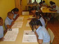 Mejorada la calidad del proceso de enseñanza – aprendizaje de los alumnos de Futuro Vivo incidiendo en sus condiciones psicosociales y educativas
